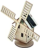 Sol-Expert Group Holland Windmill Solar-Powered Wood Kit