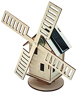 Solar-Holzwindmühle