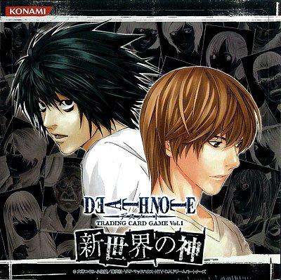 DEATH NOTE デスノート トレーディングカードゲーム ブースター vol.1 新世界の神 BOX