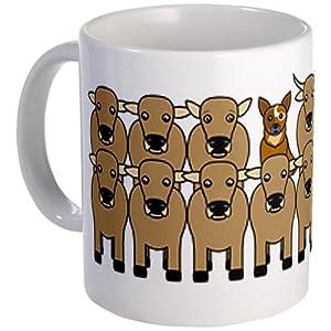 ACD and Cattle Mug Mug by CafePress