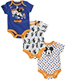 """Mickey Mouse Baby Boys' """"Superstar"""" 3-Pack Bodysuits"""