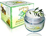 Natural Anti Aging Anti Wrinkle Intensive Skin Care Eye Firming Cream - Made Under the Mediterranean Sun | Smooths Out Fine Lines and Wrinkles | Lightens Dark Circles | Reduces Puffy Eyes | Encourages the Skin to Produce Natural Collagen | Rejuvenating Naturally Mediterranean Moisturizing Cream | SAY Goodbye to Wrinkles, Baggy Eyes and Dark Rings | Fresh Looking Youthful Skin | Easily Absorbs to Leave Skin Smooth | No Chemicals, No Additives, No Unnatural Preservatives, No Parabens, No Free Radicals