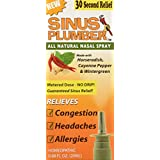 Sinus Plumber Horseradish and Pepper Nasal Spray - Natural Allergy Relief