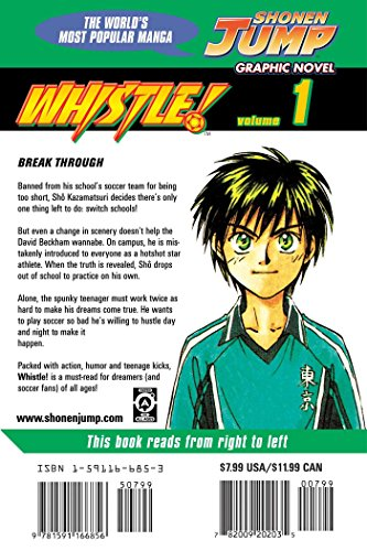 Whistle!, Vol. 1: v. 1
