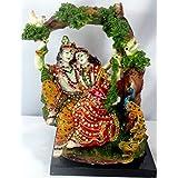 Paras Magic Marble Jhoola Radha Krishna JRK1 Idol (Standard,Multicolor)