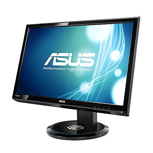 Asus VG23AH 23-inch Widescreen Full HD 3D IPS Multimedia Monitor (LED-Backlit, 1920x1080, 5ms, VGA, 2 x HDMI, DVI, Headphone Jack, Trace Free Technology, Splendid Video Intelligence Technology)