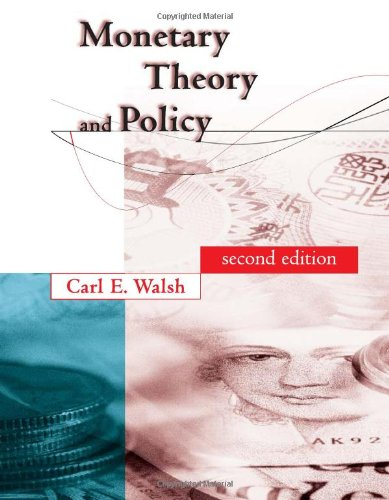 Monetary Theory and Policy, 2nd Edition