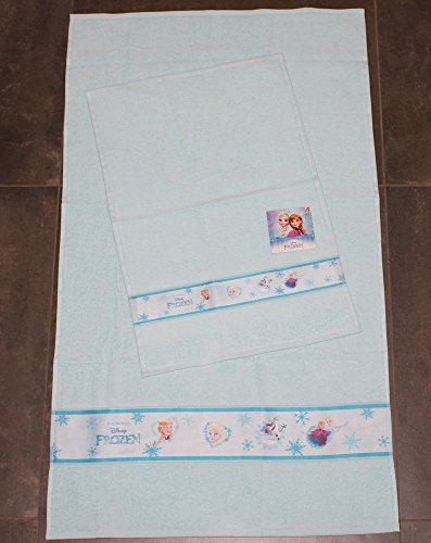 Frozen 8907 020 1060 Set Asciugamano e Ospite, Cotone, Rosa, 30 x 15 x 5 cm