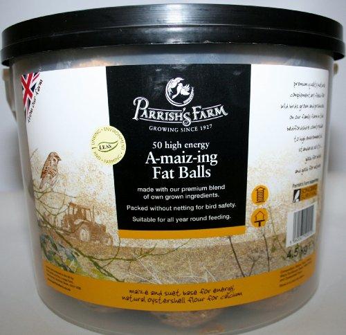parrishs-farm-a-maiz-ing-fat-suet-balls-for-wild-garden-and-all-birds-pack-of-50