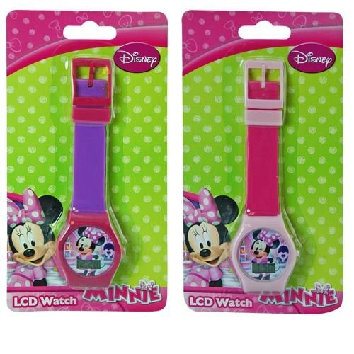 WeGlow International Minnie Mouse Assorted Digital Watch (2 Watches)