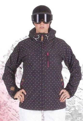 ALPRAUSCH Mürtsche Vroni Ski- und SnowboardjackeM, black, white dots