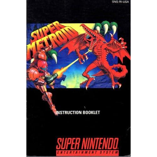 Super Metroid SNES Instruction Booklet (Super Nintendo Manual Only