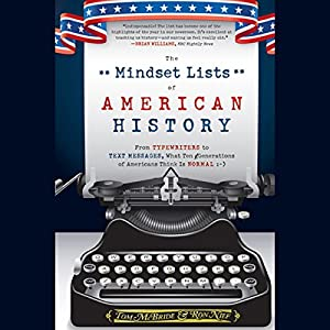 The Mindset Lists of American History Audiobook