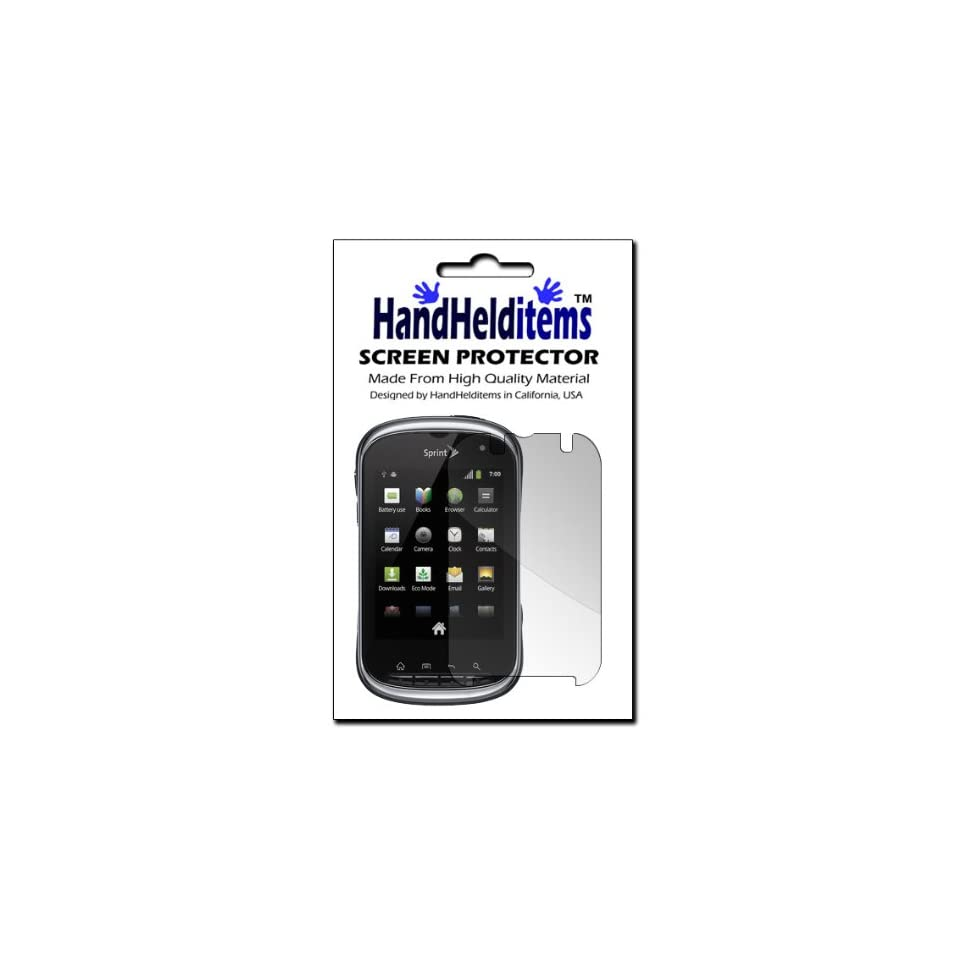 HHI Kyocera C5120 Milano Screen Anti Fingerprint, Anti Glare, Matte Finishing Screen Protector (Package include a HandHelditems Sketch Stylus Pen)