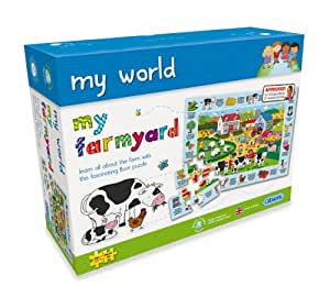 Gibsons My World My Farmyard Jigsaw Puzzle
