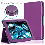 [CORNER PROTECTION] CaseCrown Bold Standby Pro Case (Purple) for 2013 All-New Amazon Kindle Fire HDX 7 Inch Tablet (NOT for 2012 Kindle Fire HD 7) with Sleep / Wake, Hand Grip, Corner Protection, & Multi-Angle Viewing Stand