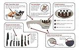 Messerschärfer/Messerschleifer/Knife Sharpener Coninx mit 3 Stufen - weiß - 3 Jahre Garantie -