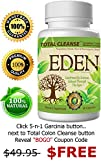 "3-n-1 Colon Cleanse Weight Loss Blend: Eden's TRIPLE ACTION ""Total Cleanse"" for a Complete, Safe,…"