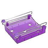 Vanker 1Pc Purple Hause Küche Kühlschrank Frische Abstandsschicht Vielzweckküchen Storage