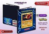 Portfolio Pokemon GROUDON holo XY52 130HP XY05 Primal Clash - Holds 180 collectible cards - A4