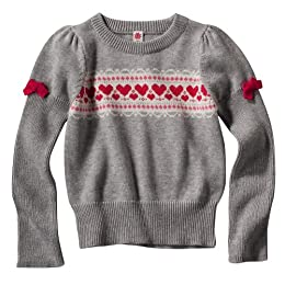 Product Image Infant Toddler Girls' Cherokee® Heather Long-sleeve Heather Sweater