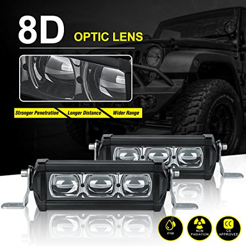 Autosaver88 2pack 8d led light bar 12 72w 7200lm off road fog autosaver88 2pack 8d led light bar 12 72w 7200lm off road fog driving lights super bright no foggy lens single row slim for motorcycles jeeps trucks atv aloadofball Image collections