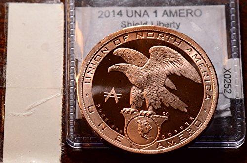2014 X0252 America 1 Amero vintage DE PO-01