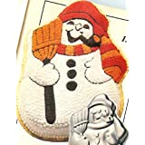 Wilton Snowman with Broom and Pipe Christmas Holiday Cake Pan  502 1646 1980