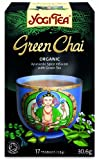 Yogi Tea Green Chai 17 Teabags (Pack of 6, Total 102 Teabags)