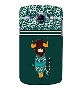 PrintDhaba Zodiac Taurus D-2748 Back Case Cover for SAMSUNG GALAXY MEGA 5.8 (Multi-Coloured)