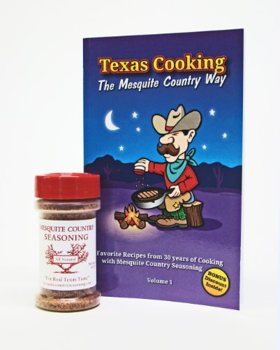 Texas Cookbook AND Texas Seasoning: a Texas-Sized