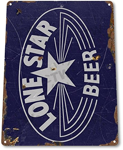 "TIN SIGN ""Lone Star Beer Old"" Decor Wall Art Bar Pub Beer Shop Store Cave A107"