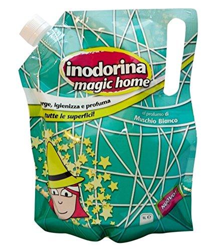 Detergente Inodorina Magic Home - Per profumare e disinfettare al meglio l'ambiente (Muschio Bianco)