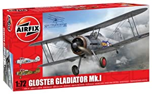 Airfix Gloster Gladiator Building Kit, 1:72 Scale from Airfix