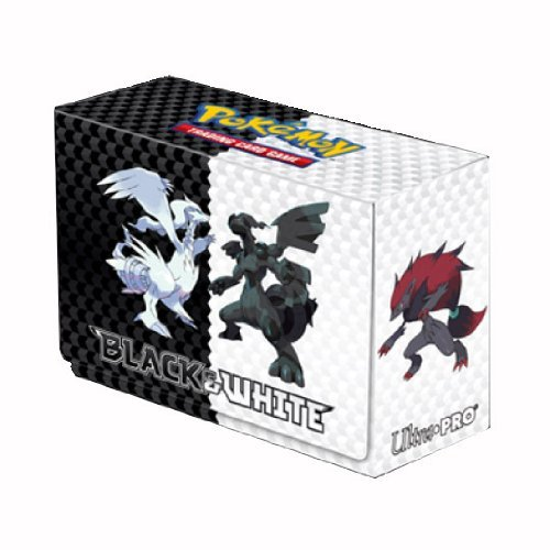 Ultra Pro Pokemon Generic 5 Black & White Deck Box