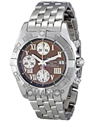 Breitling Men's A13358L2/Q520SS Bronze Dial Chrono Galactic Watch