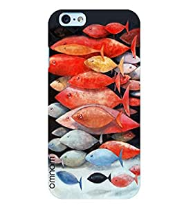 Omnam Group Of Fishes Printed Designer Back Cover Case For Apple iPhone 6/6s