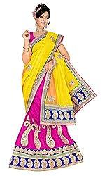 Vaishali TexStile Women's Net Unstitiched Dress Material 557_Multicolor
