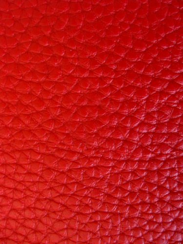 Faux Leather Fabric Calf Atomic Red (Vinyl Fabric Upholstery Red compare prices)