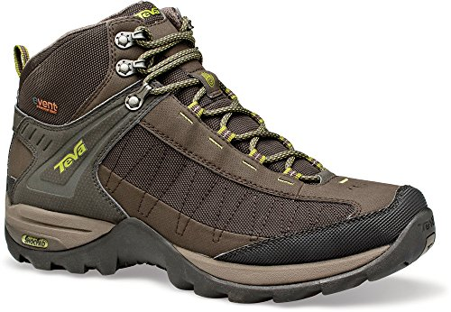 Teva Men'S Raith Mid Event Waterproof Hiking Boot,Black Olive,11.5 M Us front-1052120