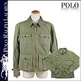 (ポロ ラルフローレン)POLO by RALPH LAUREN ジップアップジャケット [オリーブ] 1452111SINY コットン メンズ
