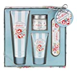 Cath Kidston Blossom Manicure Gift Set Contains Hand Cream 75 ml/ Hand Scrub 30 ml/ Cuticle Cream 38 ml/ Nail File