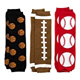 Baby Leggings Set of 3 - Johnny's Sports Baby Football, Basketball, Baseball