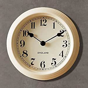 9h country style simplicity metal wall clock - Country style wall clocks ...