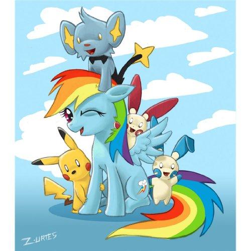 Pikachu-Poster-On-Silk-35cm-x-40cm-14inch-x-16inch-Cartel-de-Seda-F6F2D2