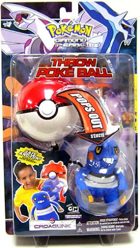 Pokemon Jakks Pacific Toy Plush Throw Poke Ball Series 3 Croagunk - Buy Pokemon Jakks Pacific Toy Plush Throw Poke Ball Series 3 Croagunk - Purchase Pokemon Jakks Pacific Toy Plush Throw Poke Ball Series 3 Croagunk (Jakks, Toys & Games,Categories)