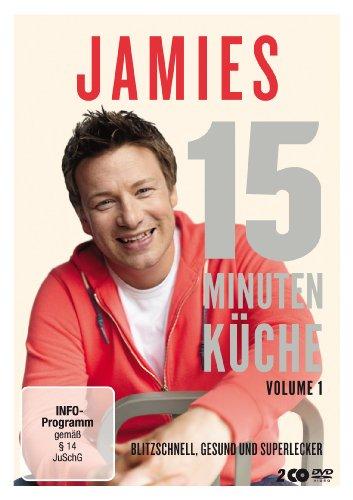 jamie oliver jamies 15 minuten k che vol 1 2 dvds preisbarometer. Black Bedroom Furniture Sets. Home Design Ideas