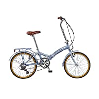Viking Easy Street Folding Bike - Silver/Silver, 14-Inch from Viking