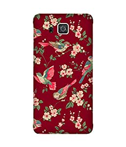 Red Birds Samsung Galaxy Alpha Case