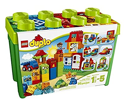 LEGO DUPLO My First Deluxe Box of Fun 10580 Building Toy by LEGO DUPLO My First